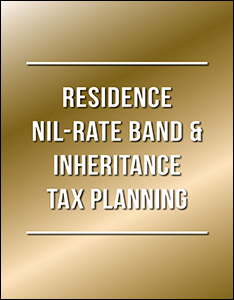 Residence NIL Rate Band Guide